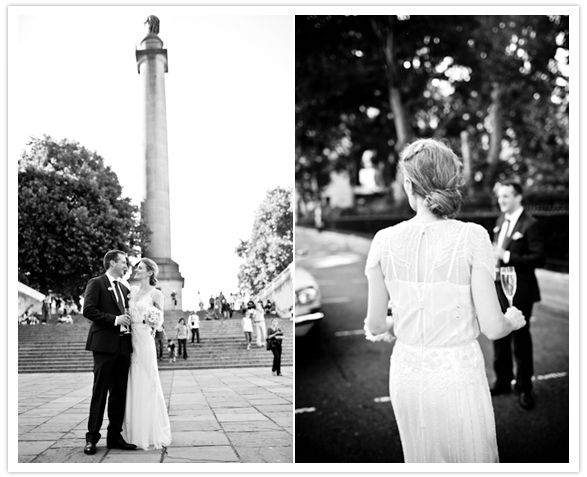 J1 Mini wedding em Londres