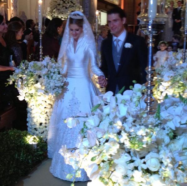 9 A noiva: Lala Rudge