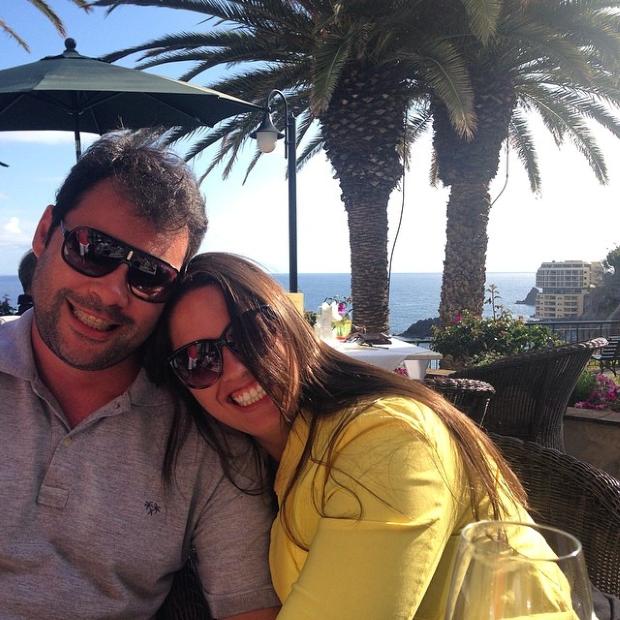 eu e fabio 3 Lua de Mel: Ilha da Madeira