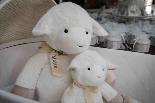 91 Decoração: ovelhas