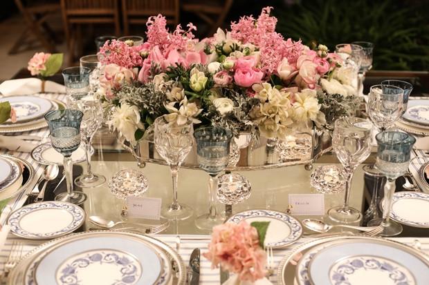 mesa posta 2 Mesa posta {rosa, azul e branco}