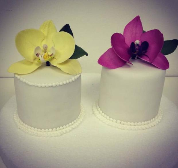 mini bolo 4 Mini bolo {com flores}