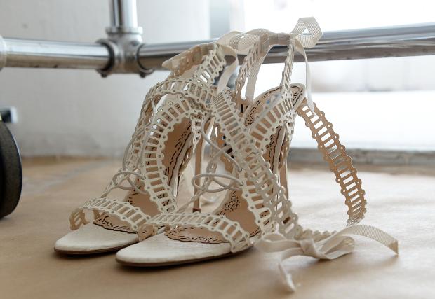 sapato marchesa 4 Sandálias para as noivas