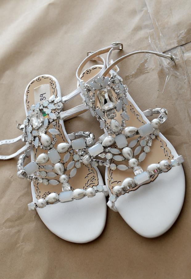 sapato marchesa 5 Sandálias para as noivas