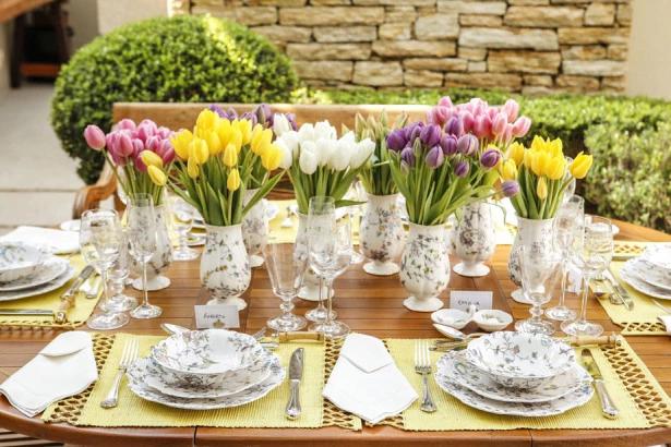 tulipas 1 Tulipas para o centro da mesa
