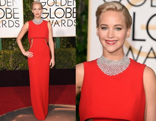 vestido 17 Golden Globe Awards 2016