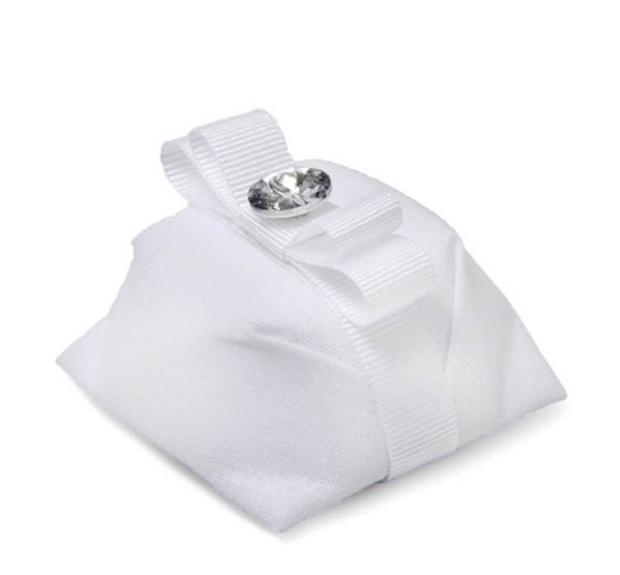 bem casado branco 3 05 opções de embalagem de bem casado branco