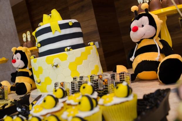 cha abelhinhas 1 Decoração: abelhinhas