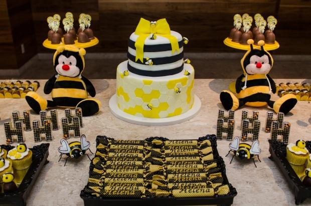 cha abelhinhas 14 Decoração: abelhinhas