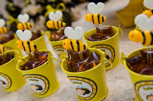 cha abelhinhas 2 Decoração: abelhinhas