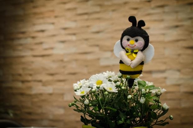 cha abelhinhas 22 Decoração: abelhinhas