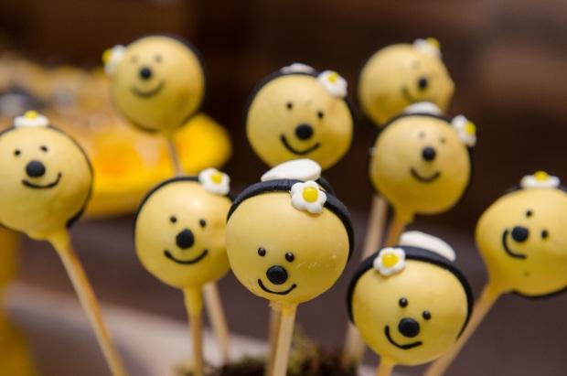 cha abelhinhas 5 Decoração: abelhinhas