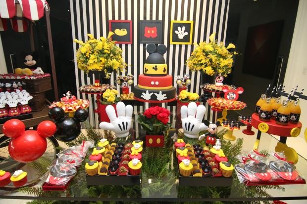 festa mickey 11 Decoração: Mickey Mouse