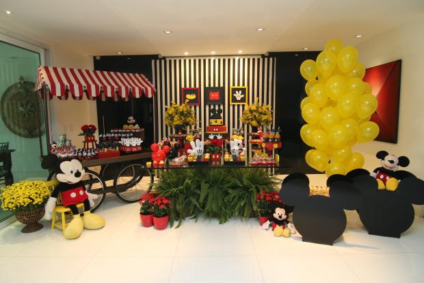 festa mickey 12 Decoração: Mickey Mouse