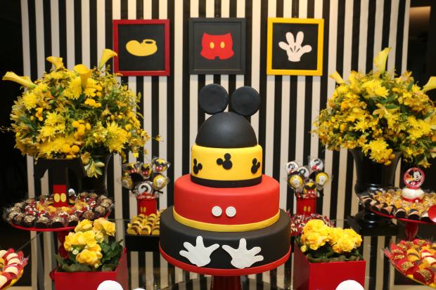 festa mickey 2 Decoração: Mickey Mouse