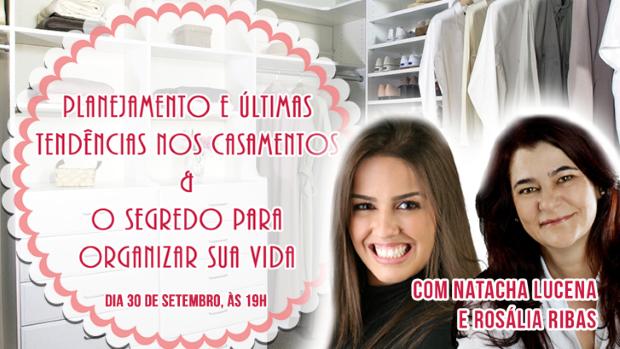 palestra brasilia shopping Casamento X Organização