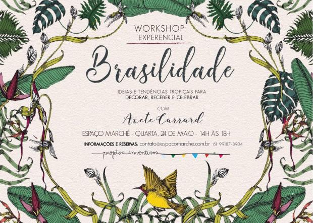 workshop brasilidade 1 Brasilidade por Anete Carrard e Taís Puntel {Workshop}