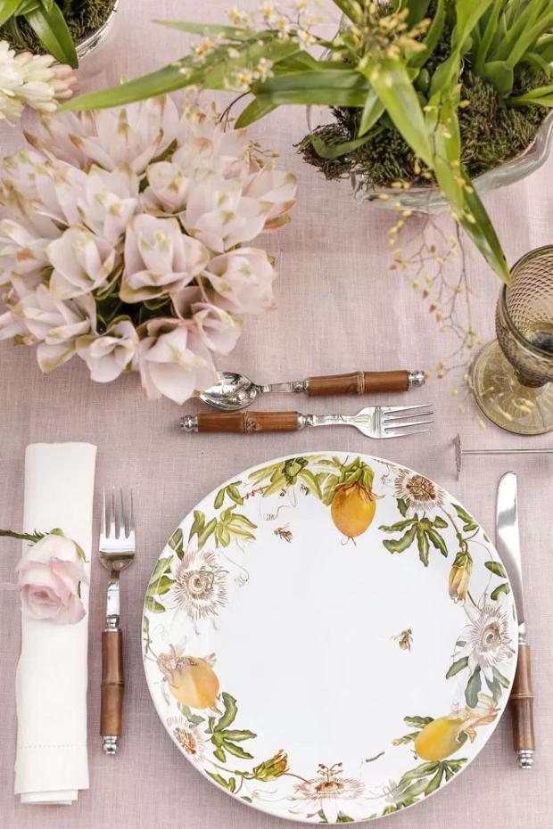 mesa de almoco 2 Mesa para o almoço {por Vamos Receber}