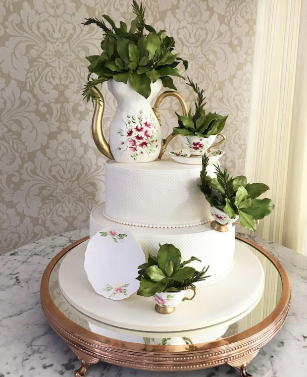bolo cha de panela the king cake Bolo para o Chá de Panela