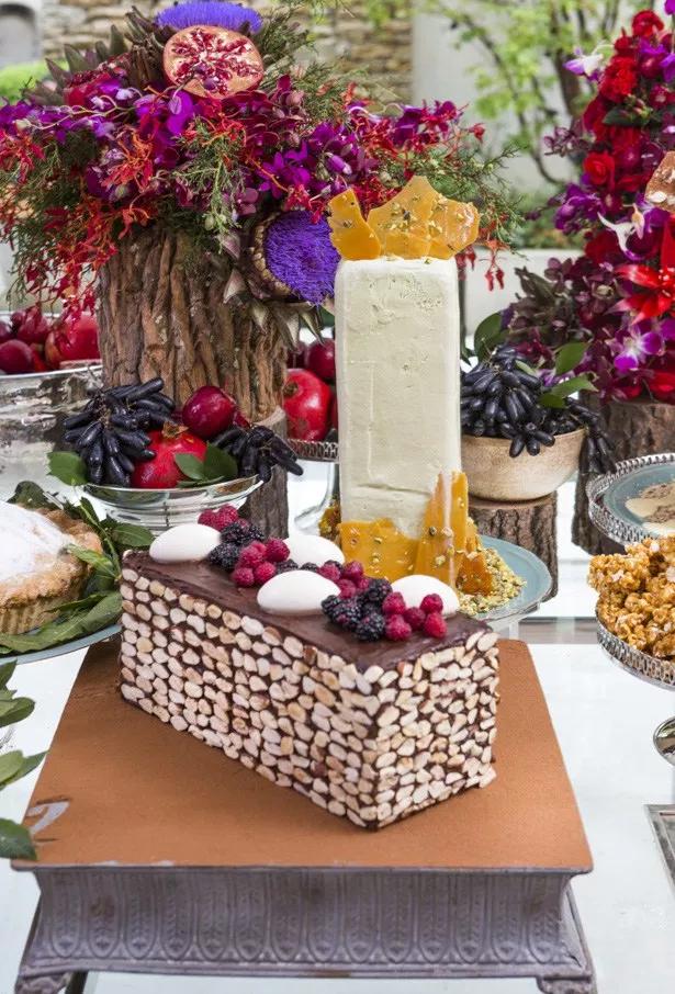 mesa de sobremesas 12 Tendência: mesa de sobremesas para casamentos