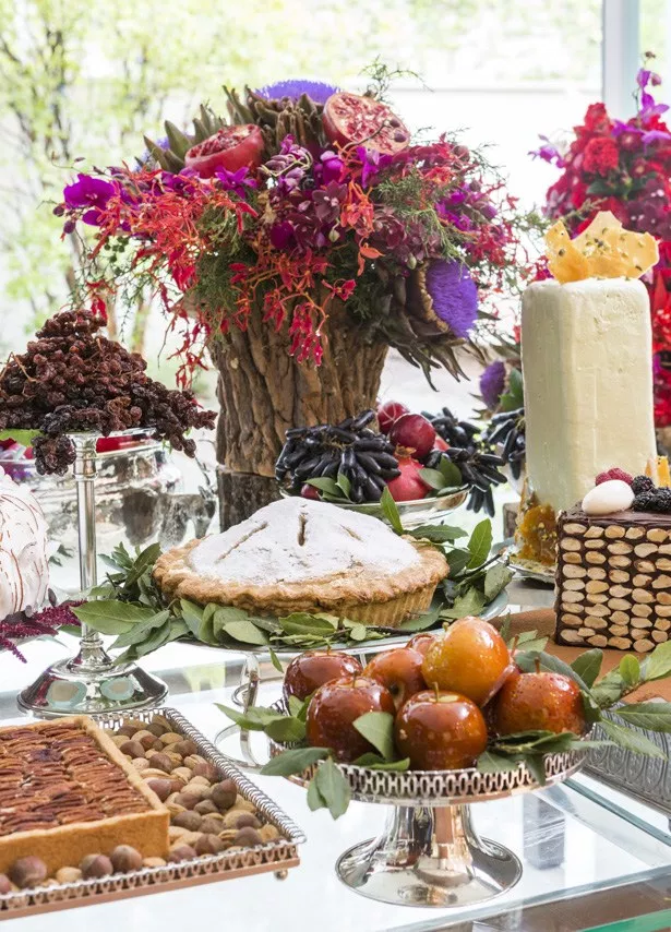 mesa de sobremesas 8 Tendência: mesa de sobremesas para casamentos