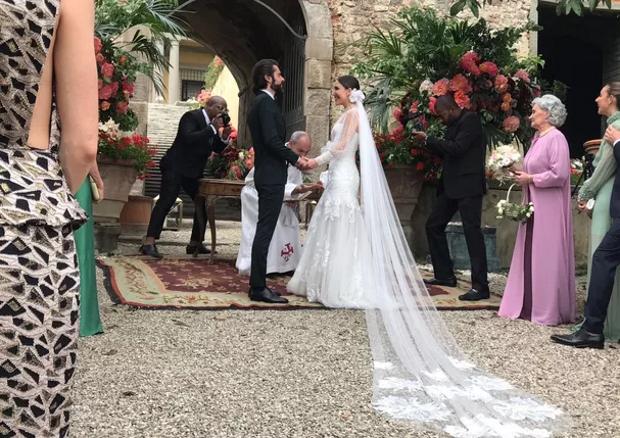 casamento lilly sarti 2 Lilly Sarti e Marcelo Raimondi