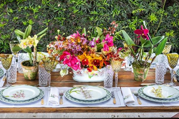 mesa posta 1 Mesa para almoço (por Vamos Receber)