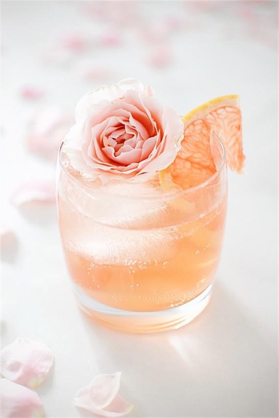 apresentacao dos drinks 3 Apresentação de drinks {com flores}